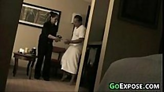Flashing room service