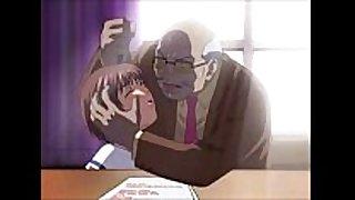 Subservient schoolgirl sucks her principal and ...