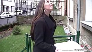 Bitch stop - charming and breasty lengthy haired dark brown