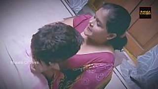 Chubby indian / desi housewife with younger chap