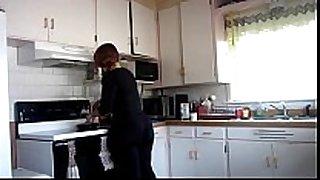 Big gazoo in kitchen