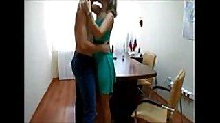 Couple office fuck on hidden livecam