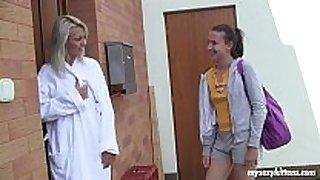 Lesbo teenies sabrina and nicoleta masturbating