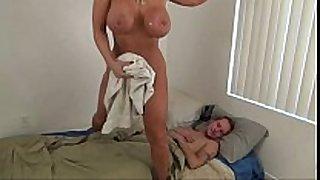 Hot mommy assist son - alura jenson
