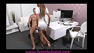 Femaleagent hawt man frustrates marvelous agent