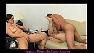 Femaleagent real couples ardent casting fuck