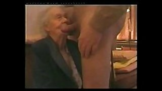 I paid my very old neighbour to engulf my knob. am...