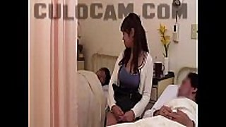 Hospital role play exhibitionist fellatio large as...