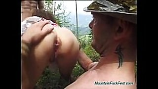 Rough german anal mountain orgy