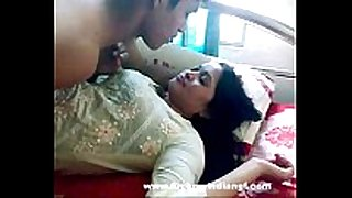 Indian sex indian-sex pair foreplay giving a kiss