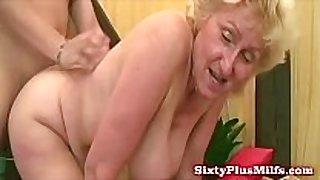Fat grandma asks for greater quantity