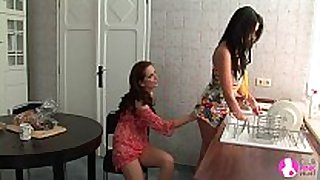 Seduced by 2 lesbo milfs - viv thomas hd