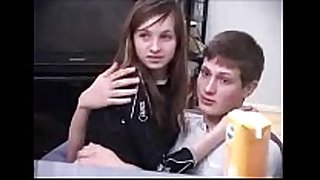 Two lads steal russian schoolgirl's virginity