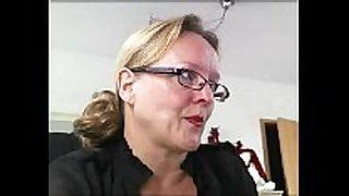 Mature german housewife three