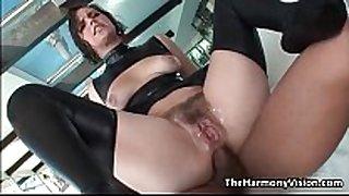 Big booty honey bobbi starr receives her taut