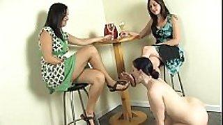 Lesbian foot fetish - headmistress claire
