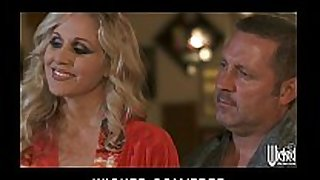 Curious pair invite jessica drake for their f...