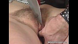 Kinky pair enjoys in s&m play where