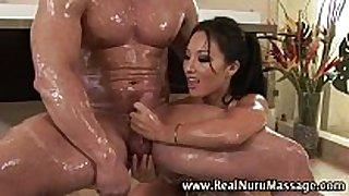 Wet oriental fetish masseuse hottie