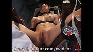Orgasm with an enema