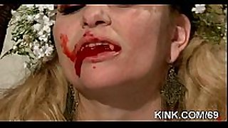 Girl next door fastened, degraded, screwed