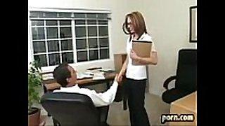 Riley shy bonks her boss