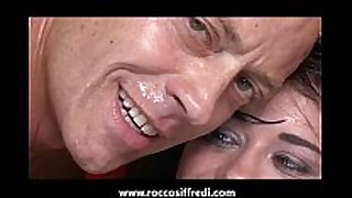 Rocco siffredi feeds her a banana and then his ...