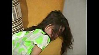 Guy impregnates sleeping floozy