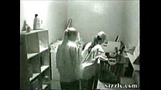 Lesbicas na câmera de segurança (security web camera l...