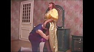 Russian mama and son halloween sex 1