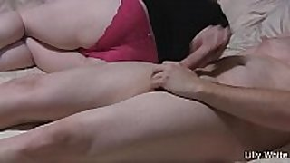 Lilly white tease with oral job and pantyjob