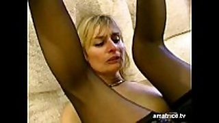 Blonde older cheats on her spouse