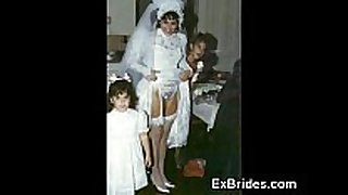Brides wicked in public!
