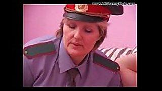 Bbw aged policewoman forcing