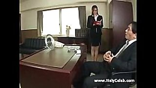 Fuck secretary in japan