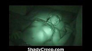 Wake a sleeper up late at night pushing jock in...