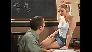 The wonderful student consoles her teacher