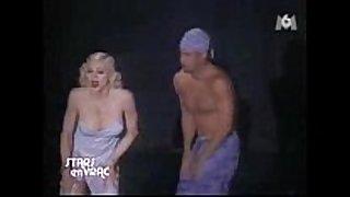 Madonna nipp @ bedtime story pajama party