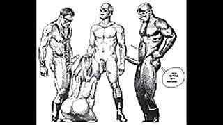 Erotic raunchy thraldom fetish comic