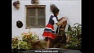 German hardcore classic movie scene