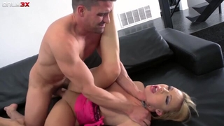 Seductive XXX babe with big boobs gets anal from Toni Ribas