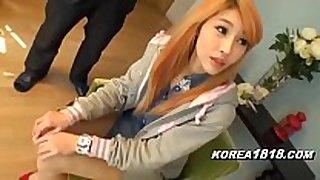 Korean porn bawdy floozy white wife in japan