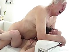 Old-n-young.com - luna rival - old fellow makes sw...